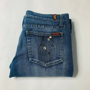 7 For All Mankind Jeans Womens Size 29 Roxanne